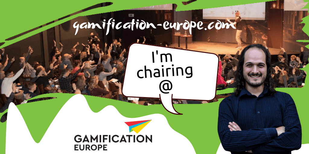 Antonis at Gamification Europe 2019